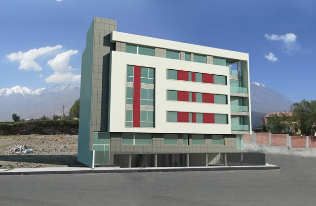 Edificio en Arequipa Perú