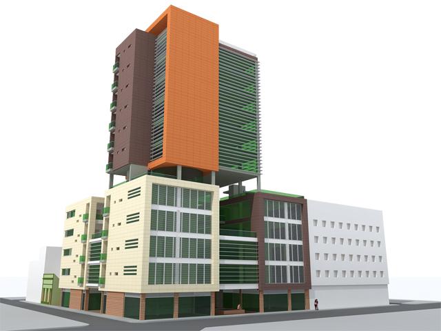 Anteproyecto Edificio de Viviendas, Locales Comerciales y Oficinas